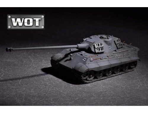 Trumpeter German King Tiger(Porsche turret)w.105mm kWh L/68 1:72 (7161)