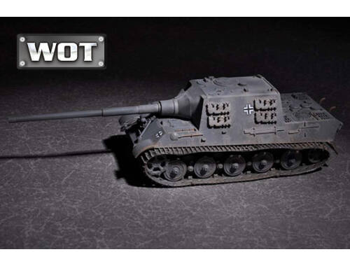 Trumpeter German JagdTiger with 128mm pal 44L-61 1:72 (07165)