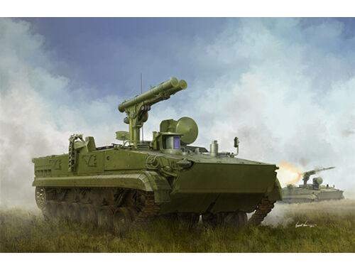 Trumpeter Russian 9P157-2 Khrizantema-S Anti-tank system 1:35 (09551)