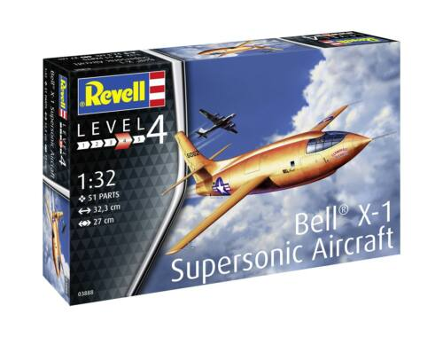 Revell Bell X-1 (1rst Supersonic) 1:32 (3888)
