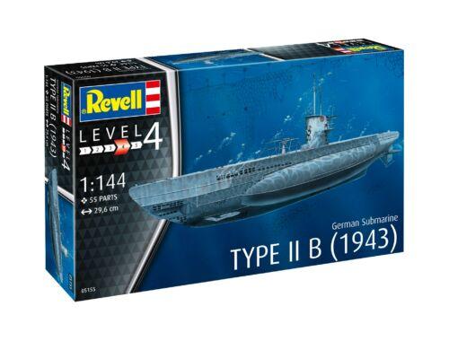 Revell German Submarine Type IIB (1943) 1:144 (5155)