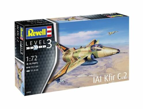 Revell Kfir C-2 1:72 (3890)