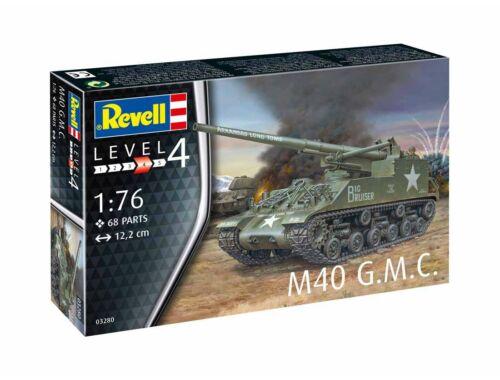 Revell M40 G.M.C. 1:76 (3280)