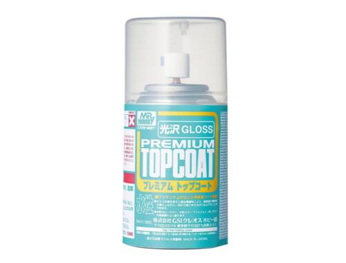 Mr.Hobby Mr.Premium Top Coat Gloss Spray B-601