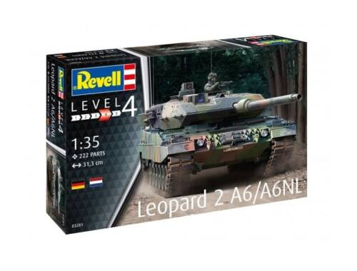 Revell Leopard 2A6/A6NL 1:35 (3281)