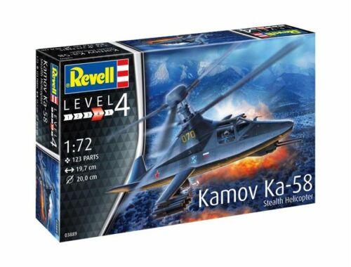 Revell Kamov Ka-58 Stealth 1:72 (3889)