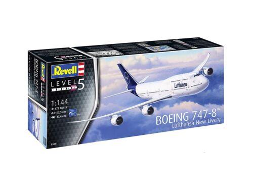 Revell Boeing 747-8 Lufthansa New Livery 1:144 (3891)