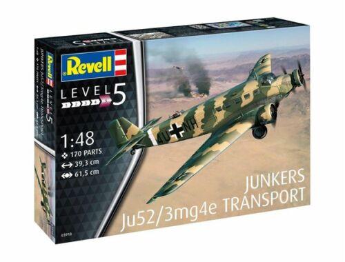 Revell Junkers Ju52/3m Transport 1:48 (3918)
