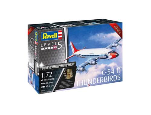 Revell C-54D Blue Angels Platinum Edition 1:72 (3920)