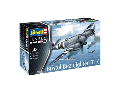 Revell Bristol Beaufighter TF. X 1:48 (3943)