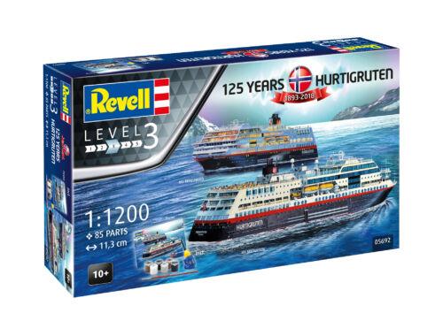 Revell Gift Set HURTIGRUTEN 125th Anniversary 1:200 (5692)