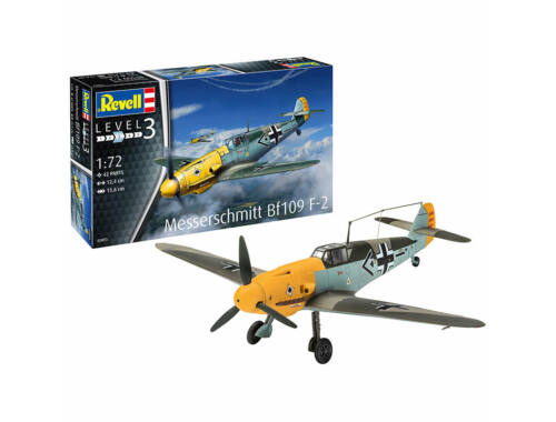 Revell Model Set Messerschmitt Bf109 F-2 1:72 (63893)