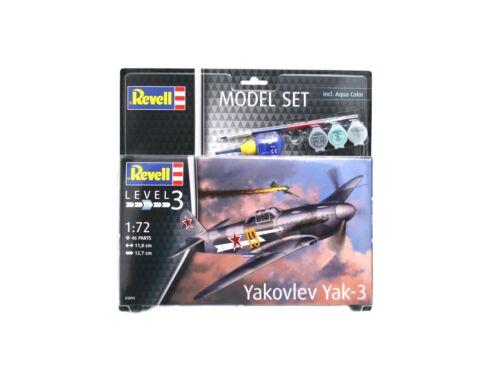 Revell Model Set Yakovlev Yak-3 1:72 (63894)