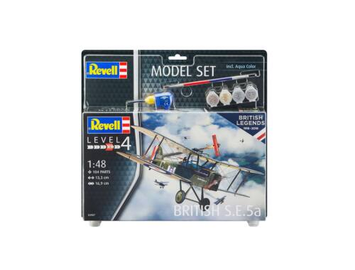 Revell Model Set British Legends - British S.E. 5a 1:48 (63907)