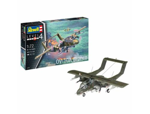 Revell Model Set OV-10A Bronco 1:72 (63909)