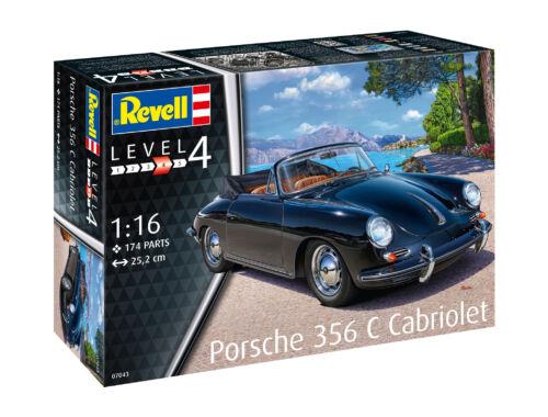 Revell Porsche 356 Cabriolet 1:16 (7043)
