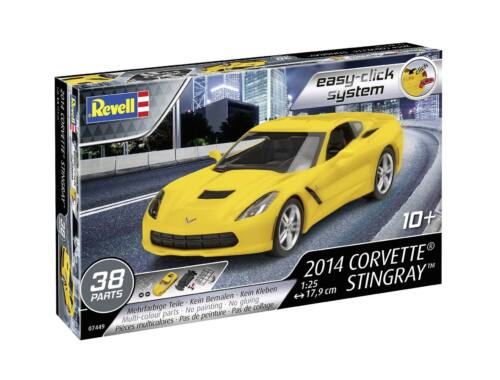 Revell Easy-Click 2014 Corvette Stingray 1:25 (7449)
