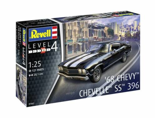 Revell 1968 Chevy Chevelle 1:25 (7662)