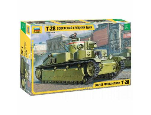 Zvezda T-28 Heavy Tank 1:35 (3694)