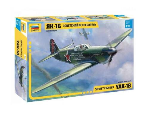 Zvezda YAK-1b Soviet Fighter 1:48 (4817)