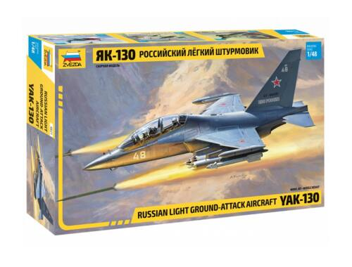 Zvezda YAK-130 Russian trainer fighter 1:48 (4821)