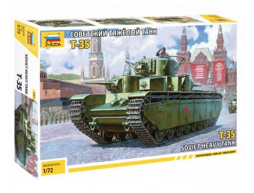 Zvezda Soviet Heavy Tank T-35 1:72 (5061)
