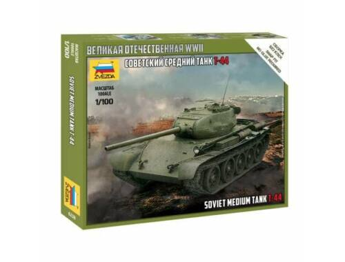 Zvezda T-44 Soviet Tank 1:100 (6238)