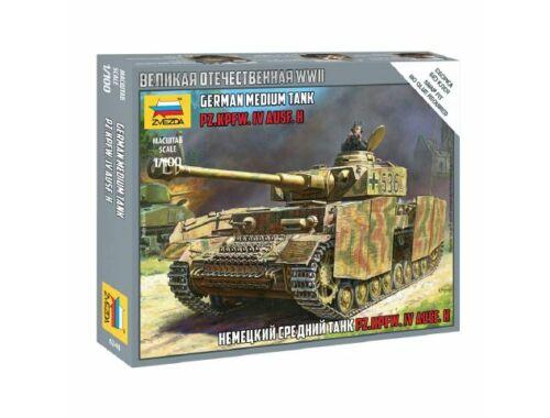 Zvezda Panzer IV Ausf.H 1:100 (6240)