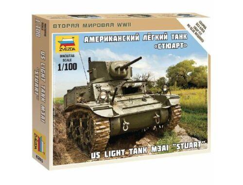 Zvezda Stuart US-Tank 1:100 (6265)