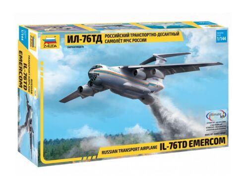 Zvezda IL-76 TD EMERCOM 1:144 (7029)