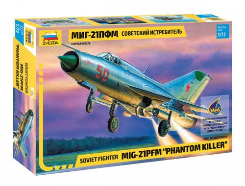 Zvezda MiG-21 PFM Phantom Killer 1:72 (7202)