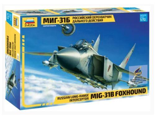 Zvezda MIG-31B Foxhound 1:72 (7244)