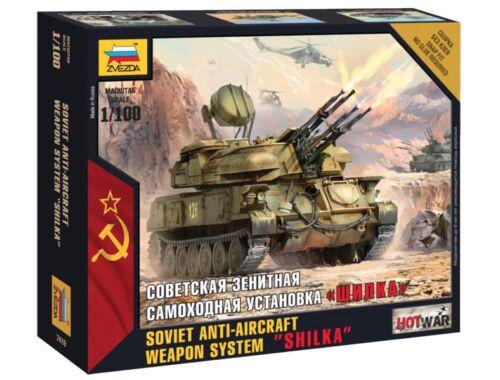 Zvezda Shilka Mini kits Modern 1:100 ( 7419)