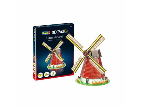 Revell Dutch Windmill Mini 3D Puzzle (00110)