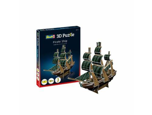 Revell Pirate Ship Mini 3D Puzzle (00115)