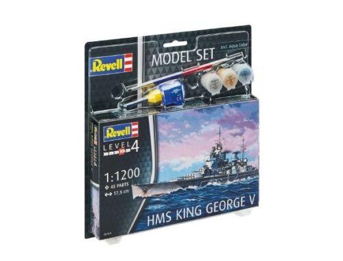 Revell Model Set HMS King George V 1:1200 (65161)