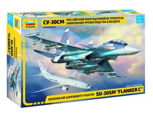 "Zvezda Sukhoi Su-30SM ""Flanker-H"" 1:72 (7314)"