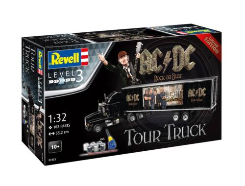 Revell Truck   Trailer AC/DC Limited Edition 1:32 (7453)