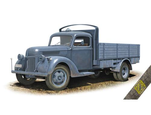 ACE V-3000S 3t German cargo Truck (early flatbed) 1:72 (72576)