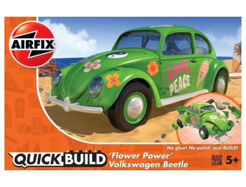 Airfix Quickbuild VW Beetle Flower-Power (J6031)