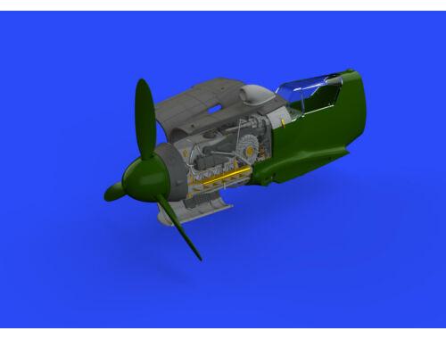 Eduard Bf 109G-10/U4 engine for Eduard 1:48 (648465)