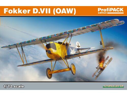 Eduard Fokker D.VII (OAW), Profipack 1:72 (70131)