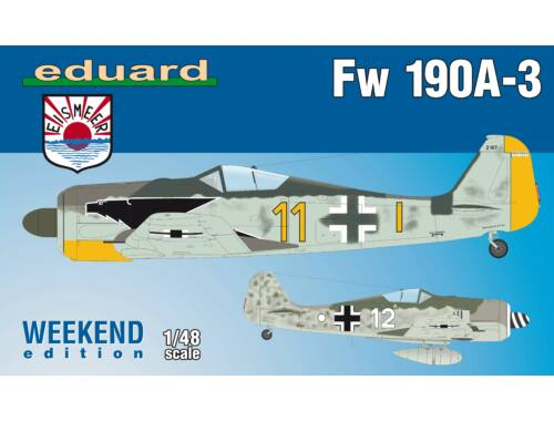 Eduard Fw 190A-3, Weekend Edition 1:48 (84112)
