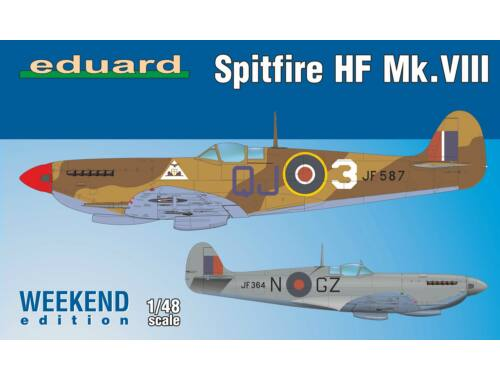 Eduard Spitfire HF Mk.VIII, Weekend Edition 1:48 (84132)