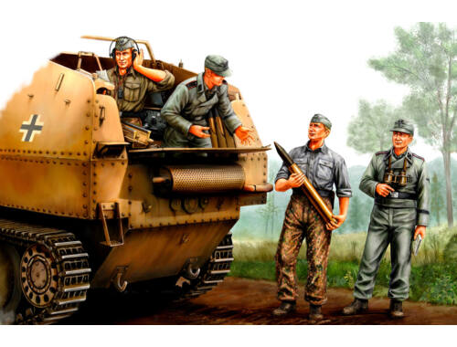 Hobby Boss German SPG Crew 1:35 (84402)