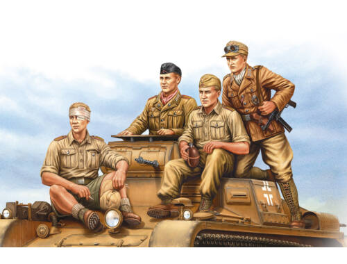 Hobby Boss German Tropical Panzer Crew 1:35 (84409)