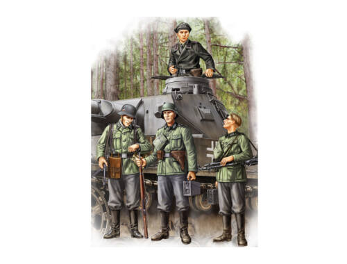 Hobby Boss German Infantry Set Vol.1 (Early) 1:35 (84413)