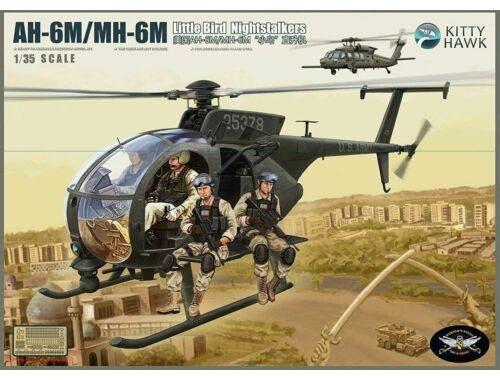 Kitty Hawk AH-6M/MH-6M night talker 1:35 (50002)