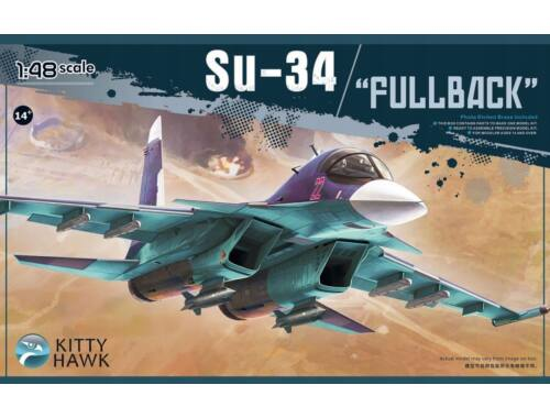 Kitty Hawk Su-34 Fullback With metal parts 1:48 (80141VER2)