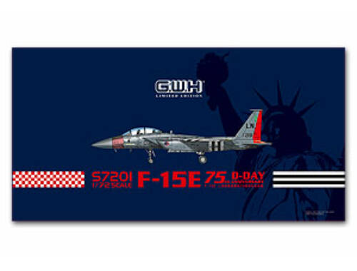 Lion Roar USAF F-15E D-Day 75th Annversary Limited Items 1:72 (S7201)